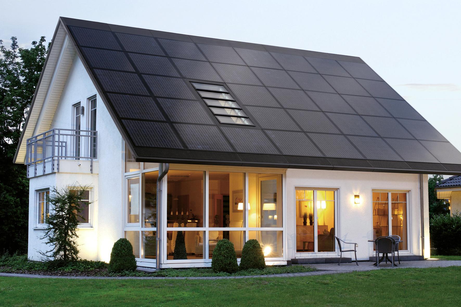 Lg neon2 300wp full black ouxo for Solar powered home designs