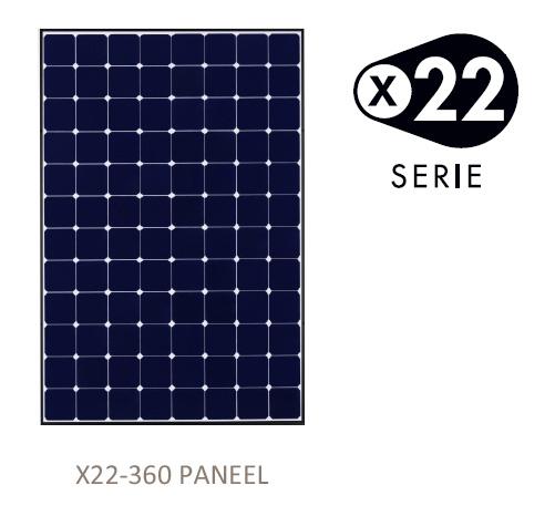 Sunpower X22 360WP OUXO