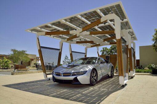 Zonnepanelen Carport Solarwatt OUXO